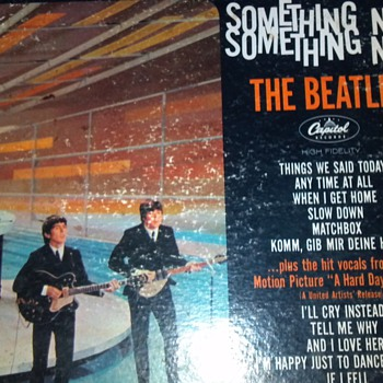 Beatles Vinyl Album Something New