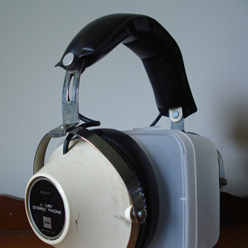1970s Toshiba HR-50X Headphones - Electronics