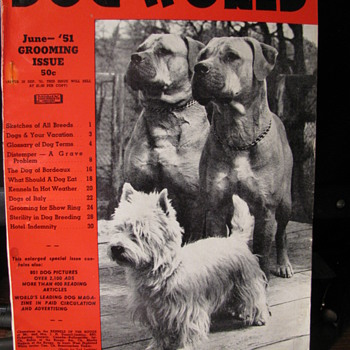 Issue of Dog World 1951 - Paper