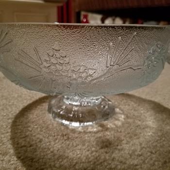 Tiara Glass Bowl Inheritance  - Glassware