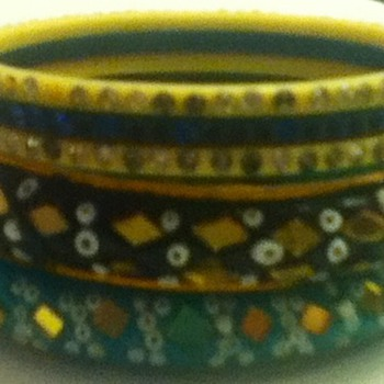 Assortment of Indian Bangles and Bracelets - Costume Jewelry