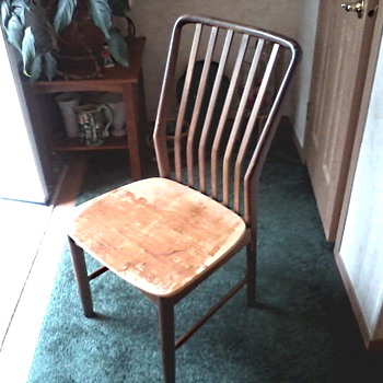Mid Century Danish Modern MM Moreddi Teak Side Chair by Sven Madsen /Morredi Stamp on Seat and Frame /Circa 1950'-60's