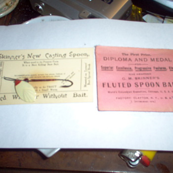 1893 world's fair fishing lure  - Fishing
