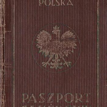 1938-39 Polish Service passport