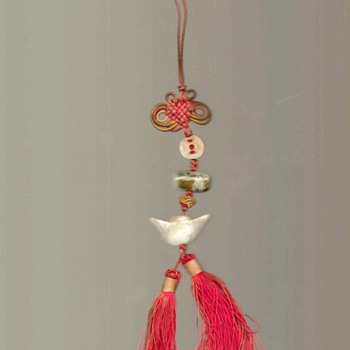 Chinese Good Luck Charms Tassel - Asian