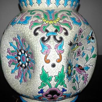 LONGWY VASE  - Art Pottery
