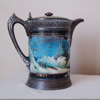 Victorian Ice Water  Pitcher
