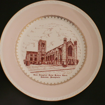 Church Plate, Lewistown, Pennsylvania - China and Dinnerware