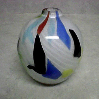 MURANO GLASS VASE - Art Glass