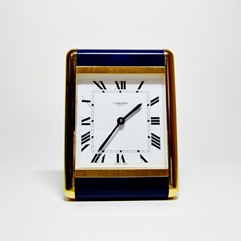 "CARTIER - PARIS  ""VINTAGE  CLOCK"""