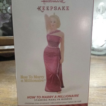 Hallmark Keepsake ornament : Marilyn Monroe