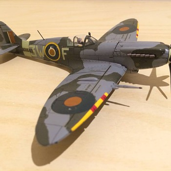 1/72 Scale Spitfire Mk XIV - Toys