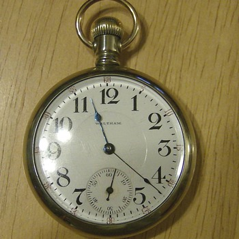 1908 Waltham Pocket Watch - Pocket Watches