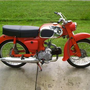1963 Honda C200 Touring 90 - Motorcycles