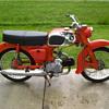 1963 Honda C200 Touring 90