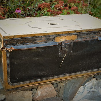 English Made Camphor Trunk/Chest mid-1800s
