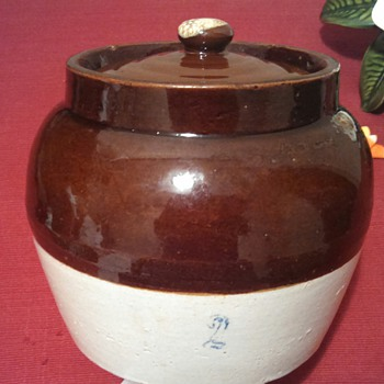Robinson Ransbottom Single Hndl 2qt. Bean Crock? - Kitchen