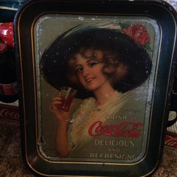 Dad's favorite Old Coca Cola Tray