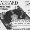 1953 - Garrard Record Changer Advertisement