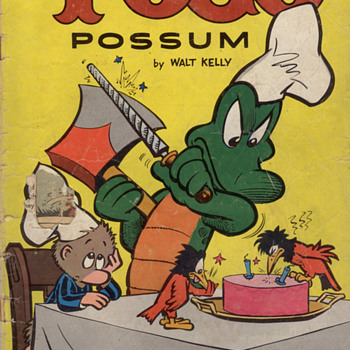 Pogo No. 16, 1954 - Comic Books