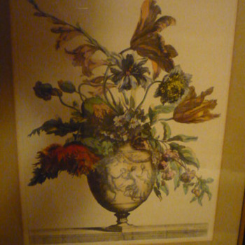 French Watercolor found at estate auction.