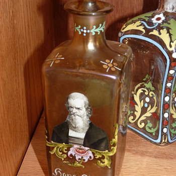 Fritz Heckert Hans Sachs decanter