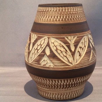 Vintage German vase - Art Pottery