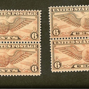Variations in color for C19 Winged Globe? - Stamps