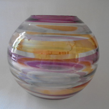 Borske Sklo Vase......Another Derivitive of the 'Nemo' Design.