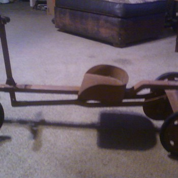 Row Cart Toy Found In West Texas