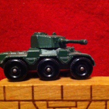More Matchbox Military