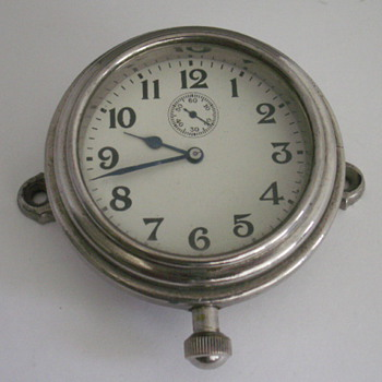 Unknown Car Clock - Clocks