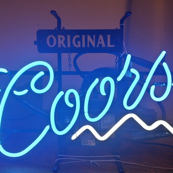 Coors Original Neon Sign - Signs