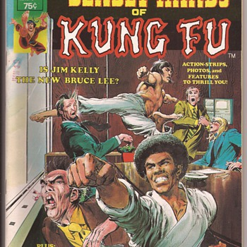 Kung fu favourites from comic collection