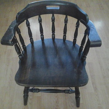 Canadian National Railway Office Chair