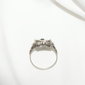 Sterling Ring - Stone Missing - Fine Jewelry