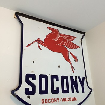 Socony sign