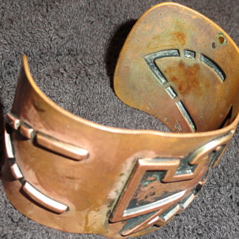 copper braclet - Costume Jewelry