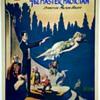 "Original ""Gordon The Master Magician"" Levitation Stone Lithograph Poster"