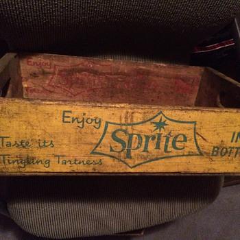 Coca cola sprite crate