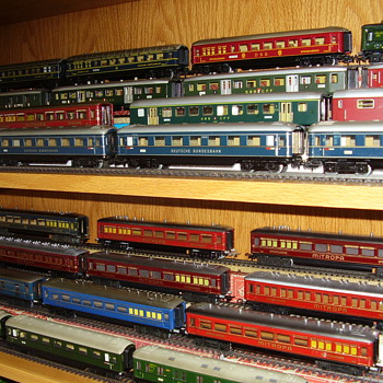 More of my Marklin train collection. - Model Trains