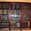 Our old Cherry wood antique bookcase