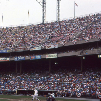 Baltimore Memorial Stadium 1988 - Baseball