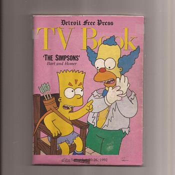 Simpsons Magazine Appearance favourites