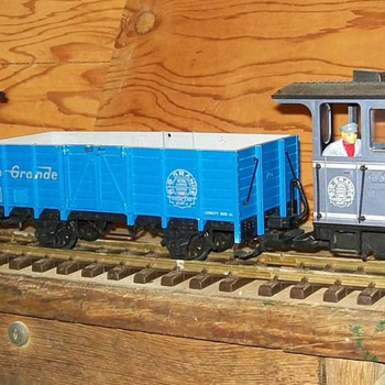 LGB Rio Grande G-scale train - Model Trains