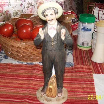 Groucho Marx Figurine - Art Pottery