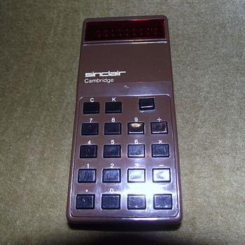 1973-sinclair cambridge calculator-1st model-type 1. - Office