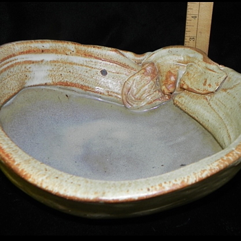 Hand made stone pottery  - Pottery
