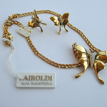 Airoldi set - necklace and earrings
