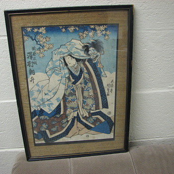 Japanese Wood Block Prints